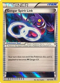Gengar Spirit Link - 95/119 (Alternate Holo) (Gamestop Exclusive), Pokemon, Miscellaneous Cards & Products