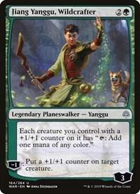 Jiang Yanggu, Wildcrafter, Magic: The Gathering, War of the Spark