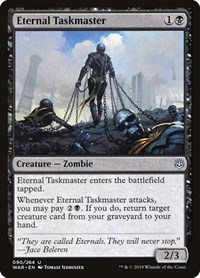 Eternal Taskmaster, Magic: The Gathering, War of the Spark