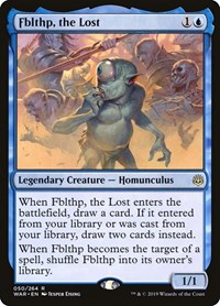 Fblthp, the Lost, Magic: The Gathering, War of the Spark