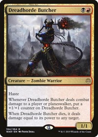 Dreadhorde Butcher, Magic: The Gathering, War of the Spark