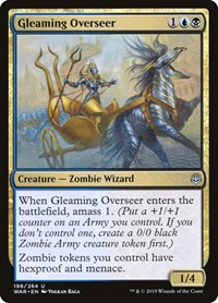 Gleaming Overseer, Magic: The Gathering, War of the Spark