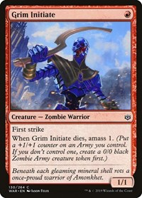 Grim Initiate, Magic, War of the Spark