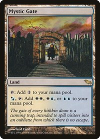 Mystic Gate, Magic: The Gathering, Shadowmoor
