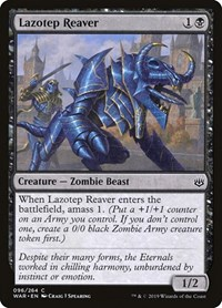 Lazotep Reaver, Magic: The Gathering, War of the Spark