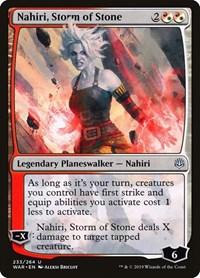 Nahiri, Storm of Stone, Magic: The Gathering, War of the Spark
