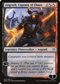 Angrath, Captain of Chaos, Magic: The Gathering, War of the Spark