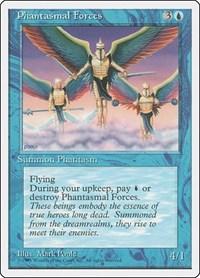 Phantasmal Forces, Magic: The Gathering, Fourth Edition