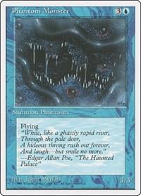 Phantom Monster, Magic: The Gathering, Fourth Edition