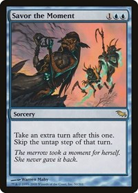 Savor the Moment (Foil)