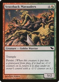 Scuzzback Marauders, Magic: The Gathering, Shadowmoor