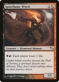 Spiteflame Witch, Magic: The Gathering, Shadowmoor
