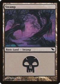 Swamp (291), Magic: The Gathering, Shadowmoor