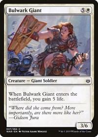 Bulwark Giant, Magic: The Gathering, War of the Spark