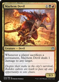 Mayhem Devil