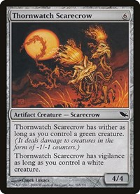 Thornwatch Scarecrow, Magic: The Gathering, Shadowmoor
