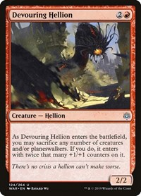 Devouring Hellion, Magic: The Gathering, War of the Spark