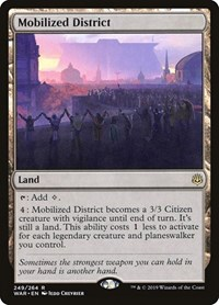 Mobilized District, Magic: The Gathering, War of the Spark