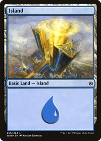 Island (255), Magic: The Gathering, War of the Spark