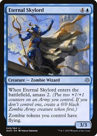 Eternal Skylord, Magic: The Gathering, War of the Spark