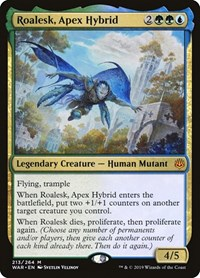 Roalesk, Apex Hybrid, Magic: The Gathering, War of the Spark