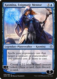 Kasmina, Enigmatic Mentor, Magic: The Gathering, War of the Spark