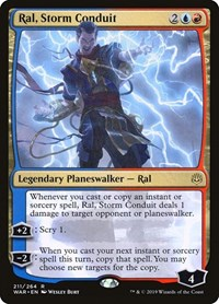 Ral, Storm Conduit, Magic: The Gathering, War of the Spark