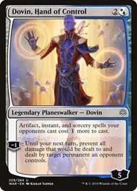 Dovin, Hand of Control, Magic: The Gathering, War of the Spark