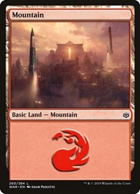 Mountain (260), Magic: The Gathering, War of the Spark