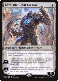 Karn, the Great Creator, Magic: The Gathering, War of the Spark