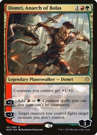 Domri, Anarch of Bolas, Magic: The Gathering, War of the Spark