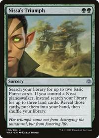 Nissa's Triumph, Magic, War of the Spark