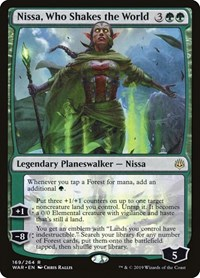 Nissa, Who Shakes the World, Magic, War of the Spark