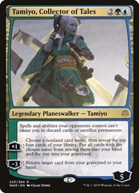 Tamiyo, Collector of Tales, Magic: The Gathering, War of the Spark