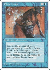 Power Leak, Magic: The Gathering, Fourth Edition