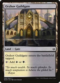 Orzhov Guildgate, Magic: The Gathering, War of the Spark
