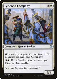 Gideon's Company, Magic: The Gathering, War of the Spark