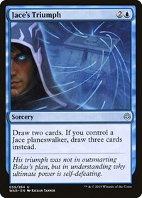 Jace's Triumph, Magic: The Gathering, War of the Spark