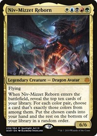 Niv-Mizzet Reborn, Magic: The Gathering, War of the Spark