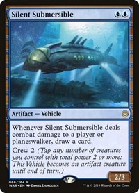 Silent Submersible, Magic: The Gathering, War of the Spark