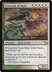 Oversoul of Dusk, Magic: The Gathering, Shadowmoor