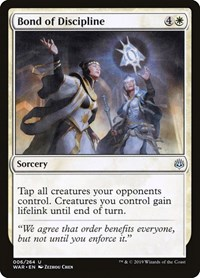 Bond of Discipline, Magic: The Gathering, War of the Spark