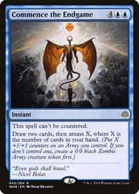 Commence the Endgame, Magic: The Gathering, War of the Spark