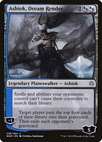 Ashiok, Dream Render, Magic: The Gathering, War of the Spark
