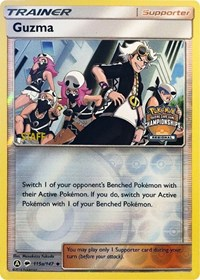 Guzma - 115a/147 (Regional Championship Promo) [Staff], Pokemon, League & Championship Cards