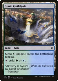 Simic Guildgate, Magic: The Gathering, War of the Spark