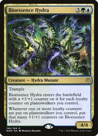 Bioessence Hydra, Magic: The Gathering, War of the Spark