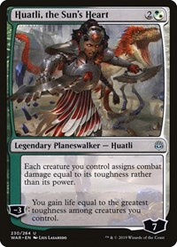 Huatli, the Sun's Heart, Magic: The Gathering, War of the Spark