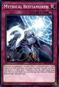 Mythical Bestiamorph, YuGiOh, Structure Deck: Order of the Spellcasters