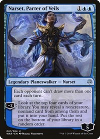 Narset, Parter of Veils, Magic: The Gathering, War of the Spark
